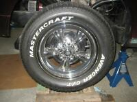 Two P215/60R15 and Two P295/50R15 Tires like new