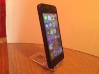 APPLE IPHONE 5 - 16GB STORAGE - FACTORY UNLOCKED TO ALL NETWORKS