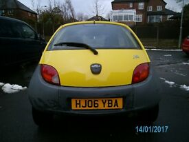 ford ka 2006 reg. 20,000 genuine miles.excellent condition inside and out.