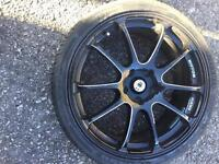 """19"""" Alloy Wheels with good tyres"""