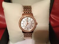 Rotary Watch Rose Gold Brand New
