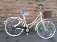 NEW Dawes Duchess Cream 2016 Womens Dutch Style Hybrid Bike - RRP £379