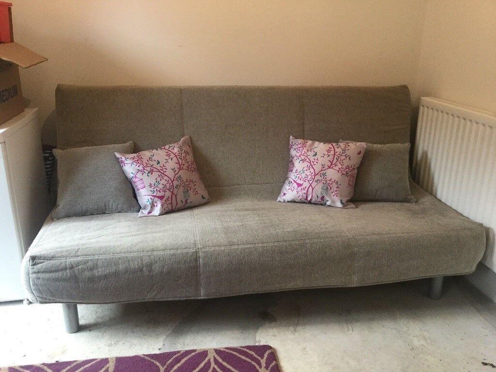 Sofa bed BEDDINGE from IKEA. Grey cover.   in Gateshead ...