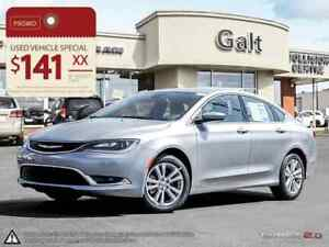2016 Chrysler 200 LIMITED X-DEMO | HEATED SEATS 5.0TOUCH BLUETOO