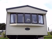 SITED STATIC CARAVAN FOR SALE IN NORTH CORNWALL