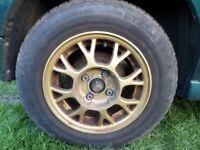 VW Polo 13 inch alloy wheels x4