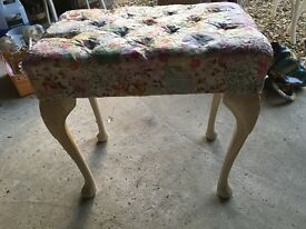Shabby Chic Bedroom Stool, Stunning