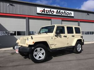 2011 Jeep WRANGLER UNLIMITED SAHARA 142K