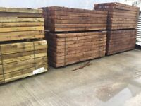 Good Quality new Railway sleepers £20 each ask about local delivery