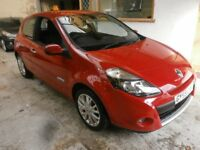 2009 RENAULT CLIO 1.2 DYNAMIQUE 3DOOR, HATCHBACK, HPI CLEAR, CLEAN CAR, DRIVES LIKE NEW