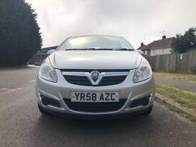 Vauxhall Corsa 1.3 CDTi ecoFLEX 16v £2,195 p/x Cheap run and maintain 2008 (58 reg), 86,000 miles