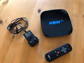 Now TV Smart Box with built in tuner