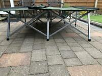 Kampa double fold down bed