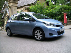 TOYOTA YARIS 62 PLATE 1.4 TR D-4D.NEW SHAPE ,HPI CLEAR 5 DOOR.SERVICE HISTORY.MINT CONDITION.