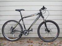 land Rover Hydro hardtail mountain bike XC MTB