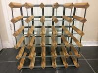 Wine Rack 25 Bottles Holder £15 ONO ( Quick Sale )