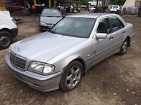 Mercedes C Class Saloon (1997 - 2000) W202 C220 CDI auto Classic 4dr silver wing indicator breaking