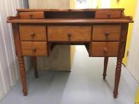 Oregon pine desk