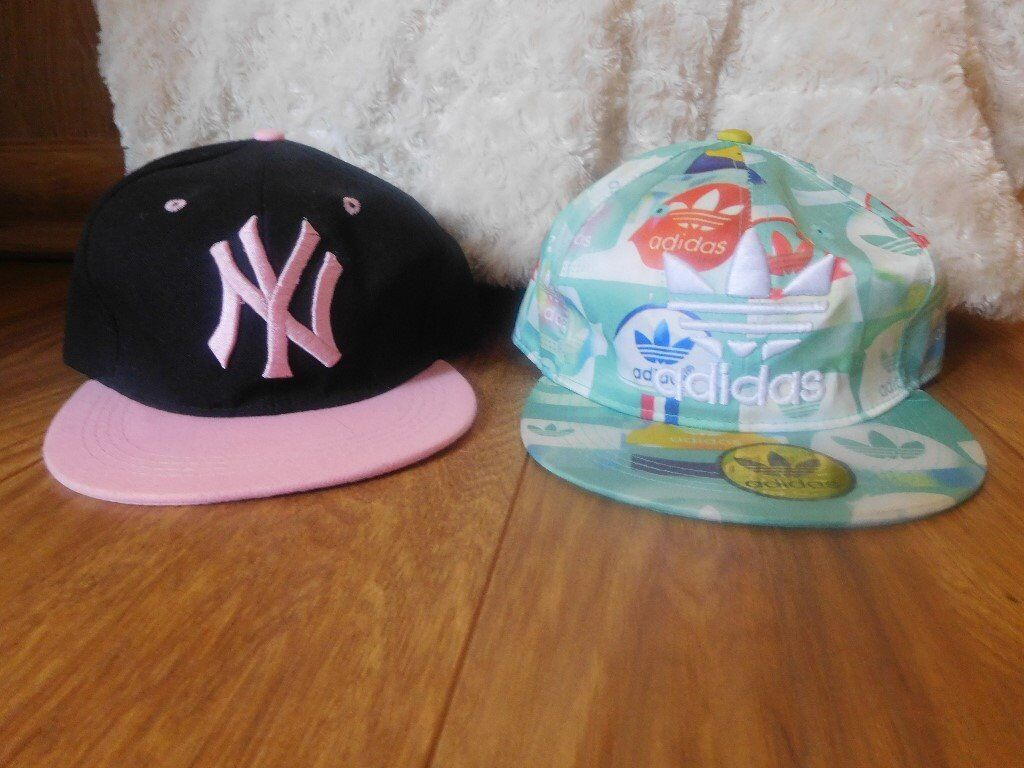 8b169058f81 Ladies Adidas Baseball Cap and New York Yankee Baseball Cap