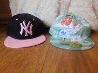 Ladies Adidas Baseball Cap and New York Yankee Baseball Cap