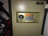 SCFS03 Sealey Electronic Combination Fireproof Safe 355 x 390 x 525mm
