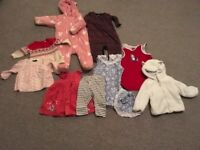 baby girl clothes 0-3, 3-6 months