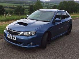 Subaru impreza WRX. Excellent condition. Subaru F.S.H. New M.O.T.low miles,all tyres VGC