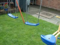 Kettler Double Swing and 2 Seat Glider