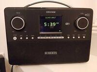 Roberts Radio Stream 93i DAB/DAB+/FM RDS and WiFi Internet Radio with 3 Way Speaker