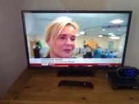 "bush 32"" led widescreen tv"
