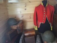 Old Military Items Wanted by Collector