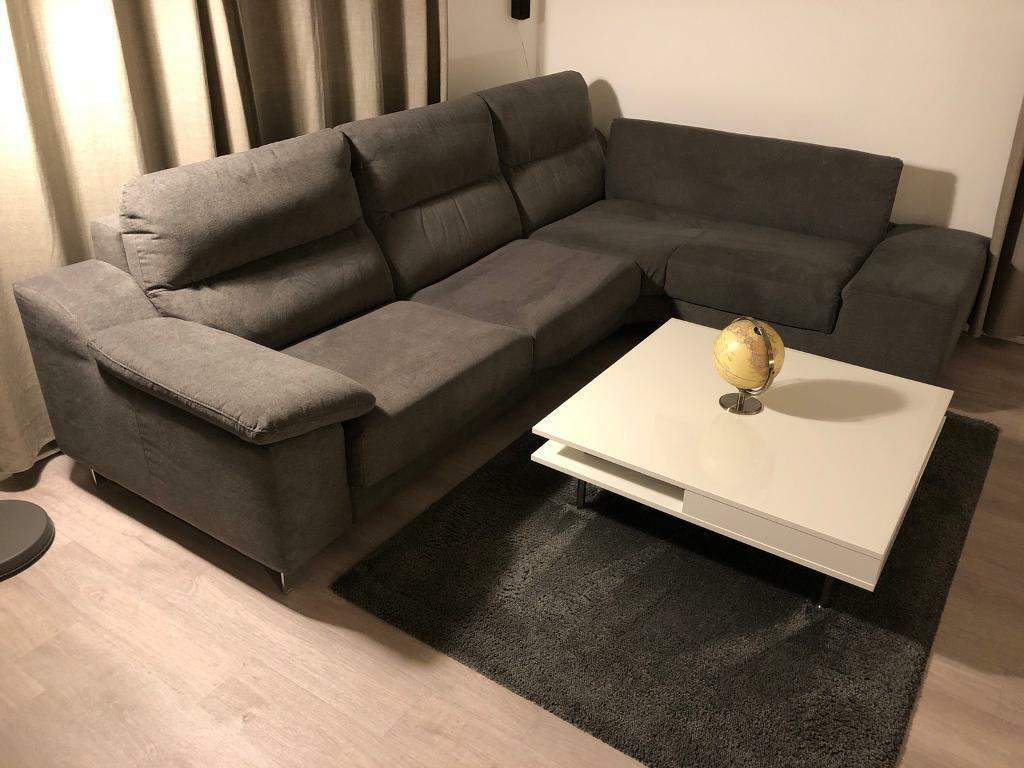 Left Hand Facing 3 Seater Corner Sofa Bed