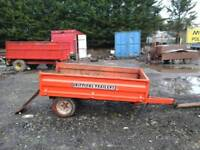 Grifiths farm tipping trailer 6x4 no vat