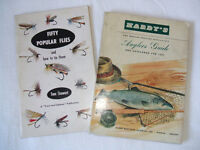 """""""Hardy's Anglers Guide 1961 (with Price List)"""" + """"Fifty Popular Flies and how to tie them."""""""