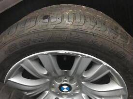 "Genuine BMW X5 X6 19"" staggered alloy wheels (223m E70, E71 M Sport)"