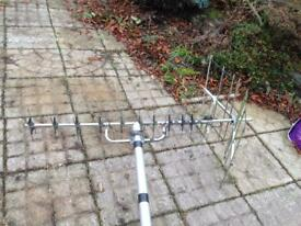 6M Pole and TV aerial