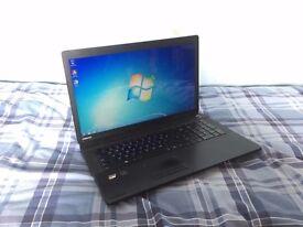Toshiba Satellite Laptop Notebook 17.3 inch, 6GB RAM