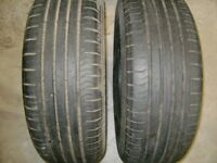 continential tyres part worn