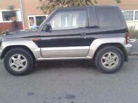 1996 RARE MITSUBISHI PAJERO 1.1 PETROL 4WD ( AUTO) needs minor body repair