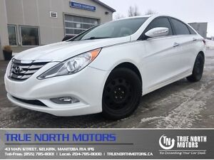 2011 Hyundai Sonata Limited w/Nav Heated leather Sunroof