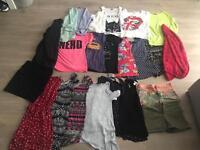 24 piece women's clothing bundle size 8/10