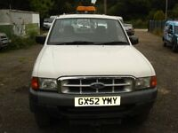FORD RANGER KING CAB 2002