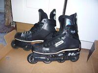 Bauer Inline Roller Hockey Skates Size 9