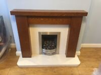 Mantelpiece, Backing and Hearth