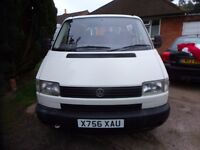 TRANSPORTER DIESEL 1900cc SWB WITH A SIDE DOOR NEW MOT FITTED TOW BAR 2 OWNERS FROM NEW ONLY