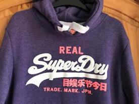 Woman's Superdry hoodie