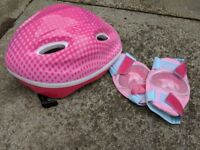 Kids Cycling Helmet + Elbow Pads