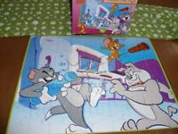 Tom and Jerry jigsaw - 45 piece floor puzzle