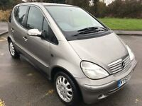 Fabulous Value 2003 53 Mercedes A140 Elegance SWB Mini MPV Jan 18 MOT Walnut Trim Pleasure to Drive
