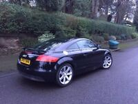 Black Audi TT Full Service History - Cambelt/Waterpump just replaced 2007 only 64k